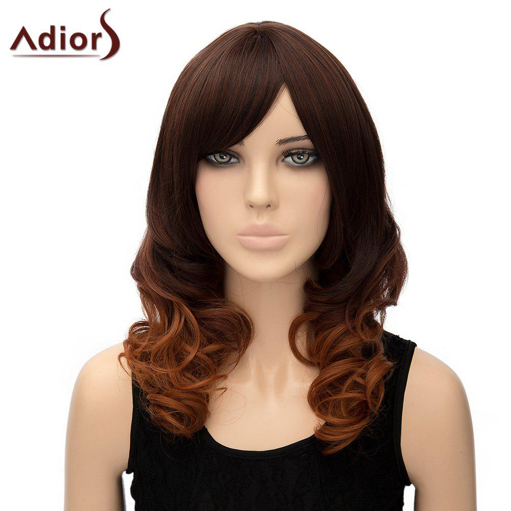 Stylish Women's Adiors Curly Heat Resistant Synthetic Cosplay Wig