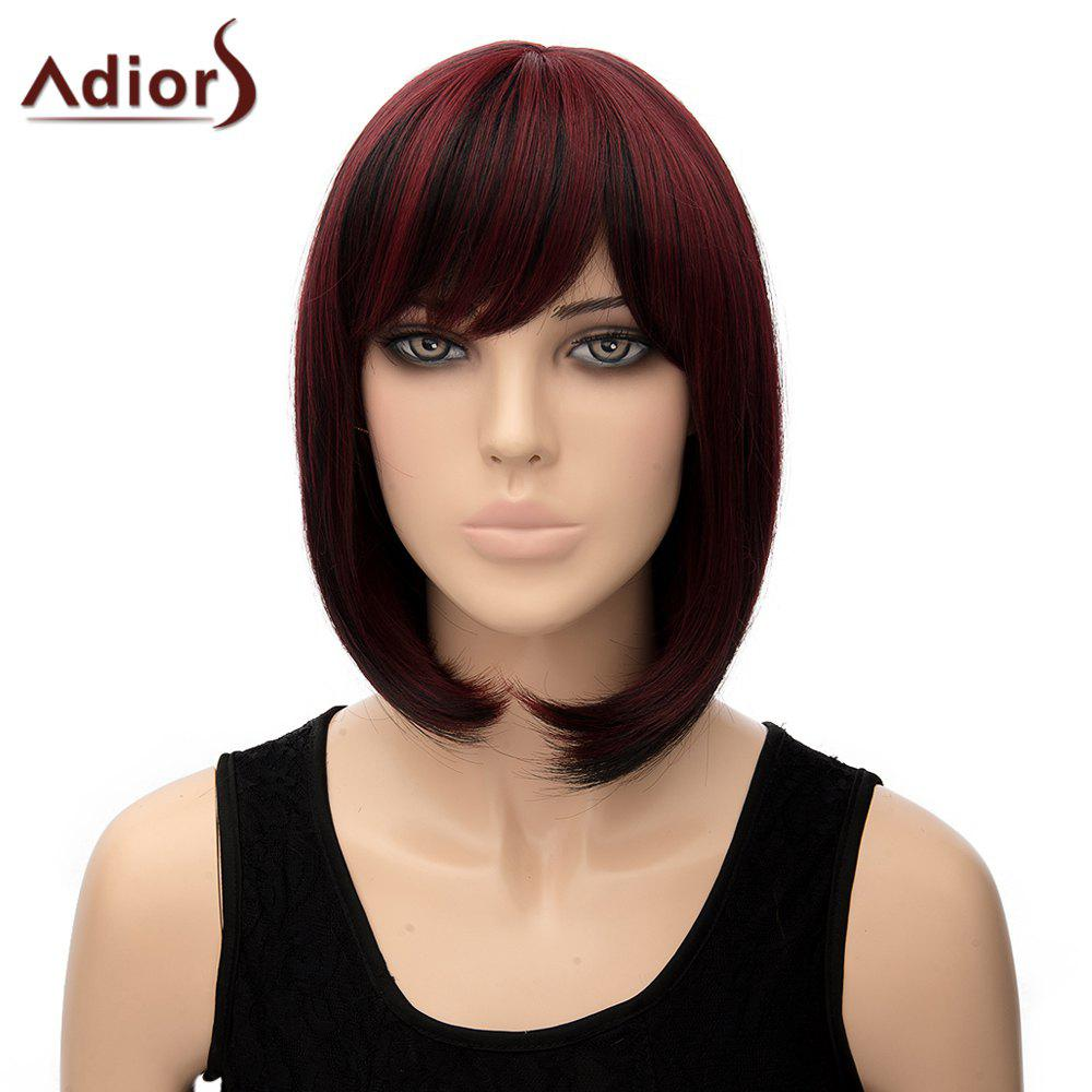 Stylish Women's Adiors Straight Heat Resistant Synthetic Cosplay Wig - COLORMIX