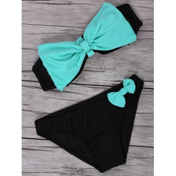 Bowknot Decorated Bikini Set Swimwear For Women