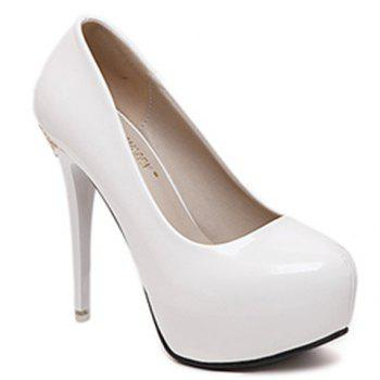 Graceful Metal and Stiletto Heel Design Women's Pumps