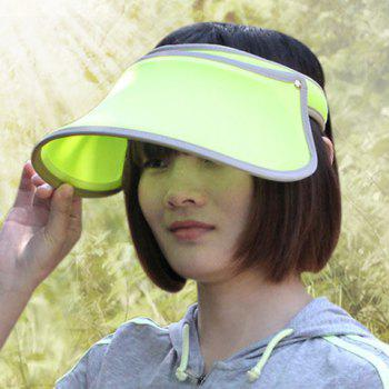 Chic Solid Color Open Top Women's Visor