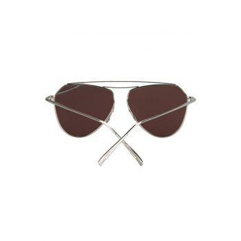 Chic Silver Alloy Sunglasses For Women -  SILVER