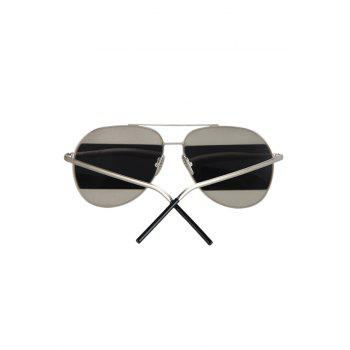Chic Irregular Lenses Silver Alloy Sunglasses For Women -  SILVER