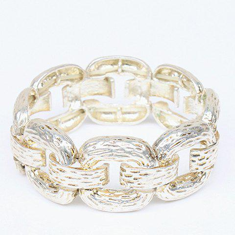 Gorgeous Solid Color Thick Chain Bracelet For Women