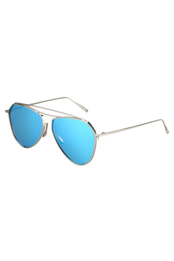 Chic Silver Alloy Sunglasses For Women