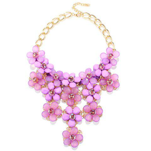 Stunning Floral Hollow Out Beads Necklace For Women