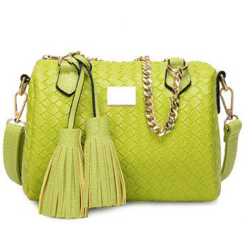 Elegant Weaving and Tassels Design Women's Tote Bag