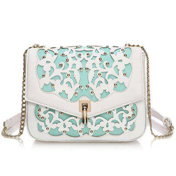 Sweet Hollow Out and Cover Design Women's Shoulder Bag