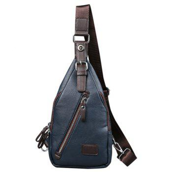 Magnetic Closure Design Messenger Bag For Men