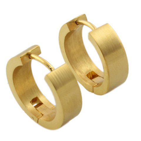 Pair of Gorgeous Round Hoop Jewelry Earrings For Women