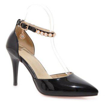 Elegant Pointed Toe and Beading Design Women's Pumps