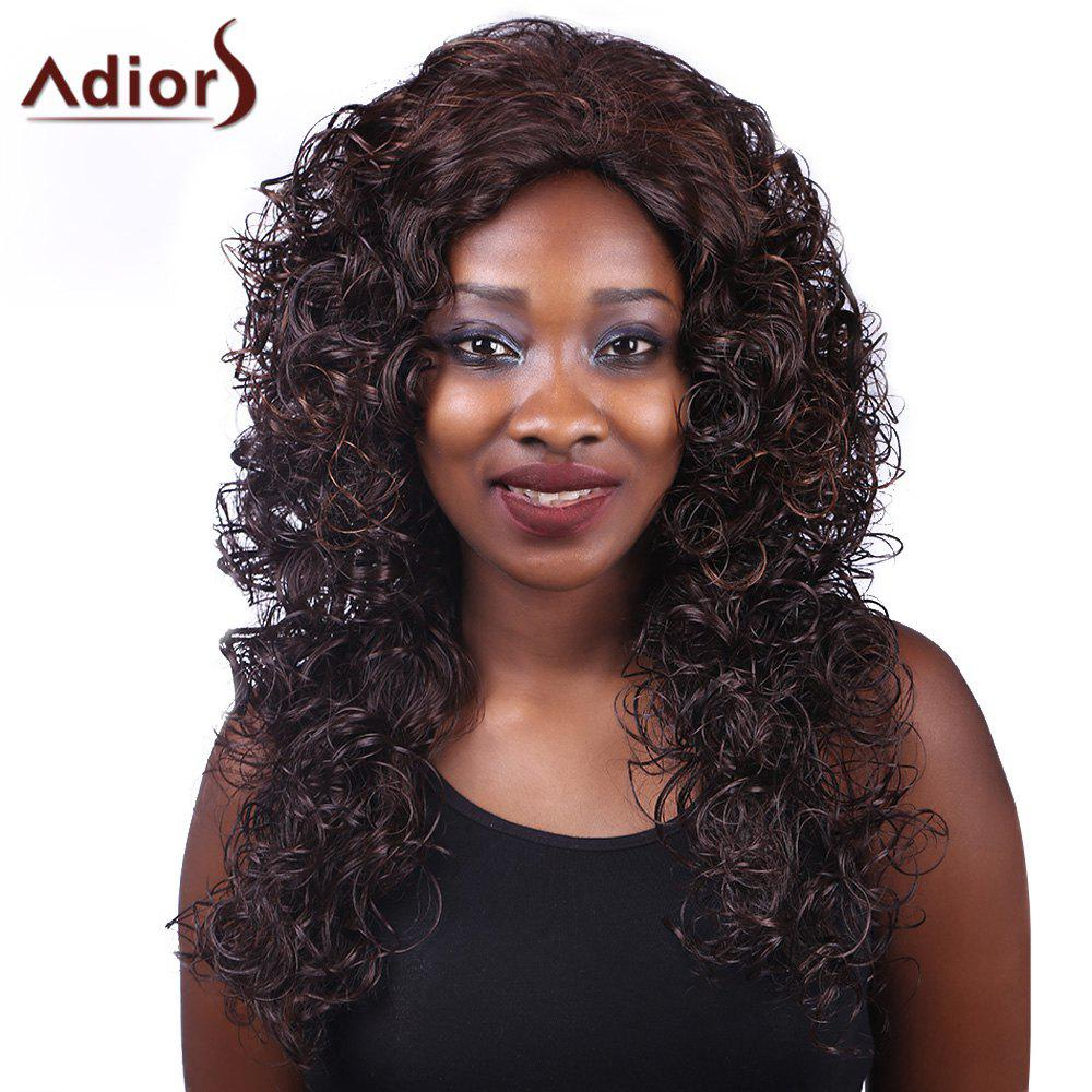 Adiors Curly Long Heat Resistant Synthetic Women's Wig
