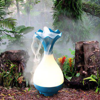 High Quality Mute Jade Net Bottle Shape Night Light Nebulization Aroma Diffuser Humidifier - LAKE BLUE LAKE BLUE