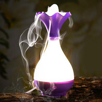 High Quality Mute Jade Net Bottle Shape Night Light Nebulization Aroma Diffuser Humidifier -  VIOLET ROSE