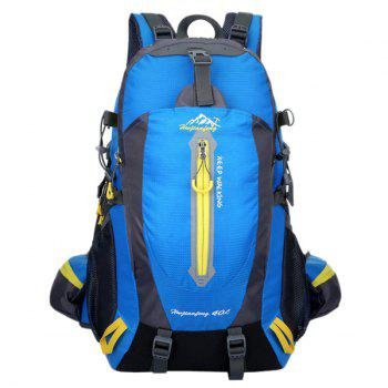 High Quality Multifunctional Travel Hiking Backpack Waterproof Outdoor Climbing Bag - LAKE BLUE LAKE BLUE
