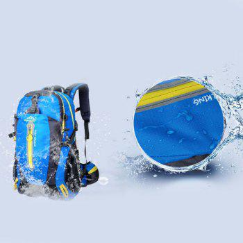 High Quality Multifunctional Travel Hiking Backpack Waterproof Outdoor Climbing Bag -  LAKE BLUE