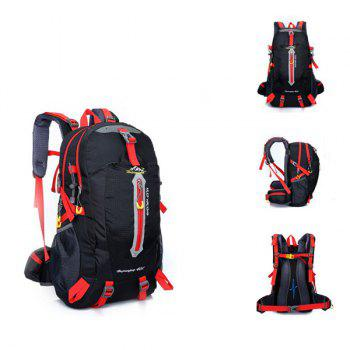High Quality Multifunctional Travel Hiking Backpack Waterproof Outdoor Climbing Bag - BLACK