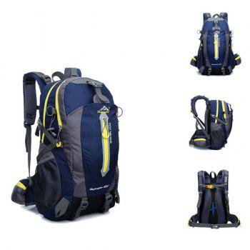 High Quality Multifunctional Travel Hiking Backpack Waterproof Outdoor Climbing Bag -  DEEP BLUE