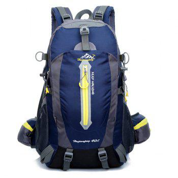 High Quality Multifunctional Travel Hiking Backpack Waterproof Outdoor Climbing Bag - DEEP BLUE DEEP BLUE