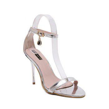 Concise Ankle Strap and Stiletto Heel Design Sandals For Women