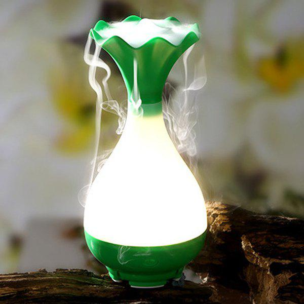 High Quality Mute Jade Net Bottle Shape Night Light Nebulization Aroma Diffuser Humidifier new 300ml woodgrain essential oil aroma diffuser aromatherapy humidifier mist maker purifier 3 models