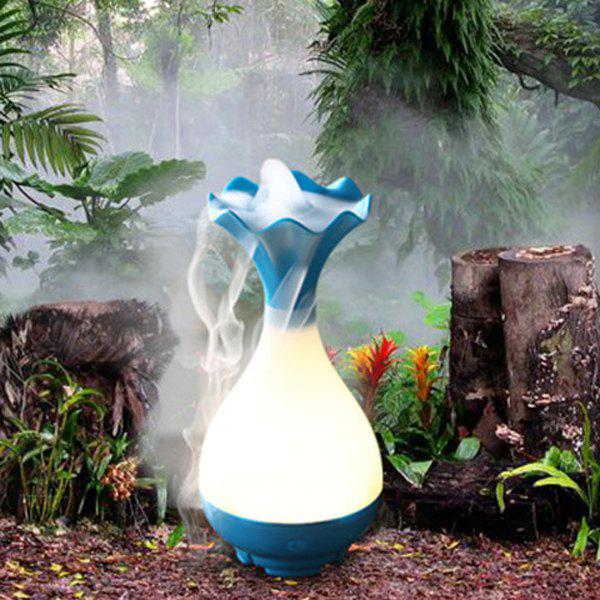 Haute Qualité Bouteille Forme Mute Jade Net Night Light nébulisation Aroma Diffuseur Humidificateur - Pers