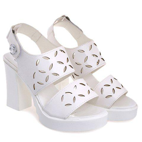 Trendy  and Engraving Design Women's Sandals