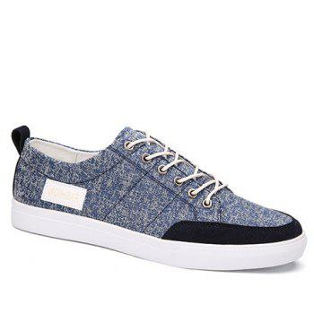 Splicing Design Canvas Shoes For Men
