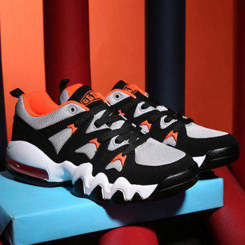 Fashionable Colour Matching and Splicing Design Men's Athletic Shoes - 44 44