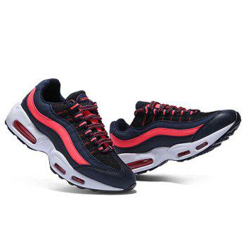 Stylish Color Matching and Splicing Design Men's Athletic Shoes - 42 42