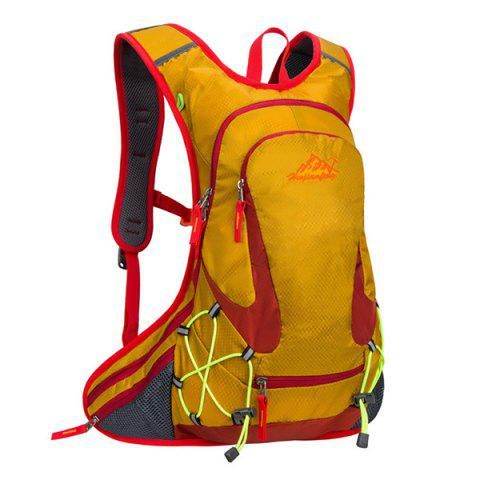 High Quality Waterproof Outdoor Travel Sport Hiking Backpack Fixed Gear Cycling Bag - ORANGE
