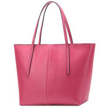 Solid Color Design Shoulder Bag For Women