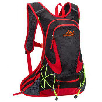 High Quality Waterproof Outdoor Travel Sport Hiking Backpack Fixed Gear Cycling Bag - BLACK BLACK