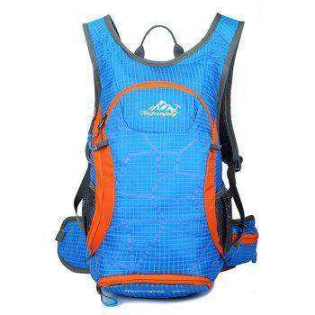 High Quality 12L Waterproof Outdoor Travel Sport Climbing Backpack Fixed Gear Cycling Bag - LAKE BLUE LAKE BLUE