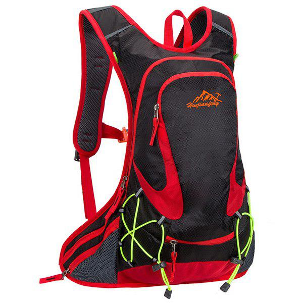 High Quality Waterproof Outdoor Travel Sport Hiking Backpack Fixed Gear Cycling Bag - BLACK