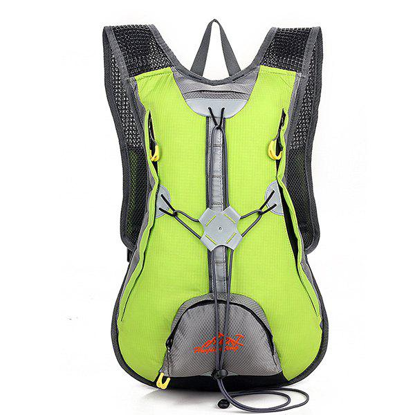 High Quality Waterproof Outdoor Travel Sport Climbing Backpack Fixed Gear Cycling Bag - LEMON GREEN