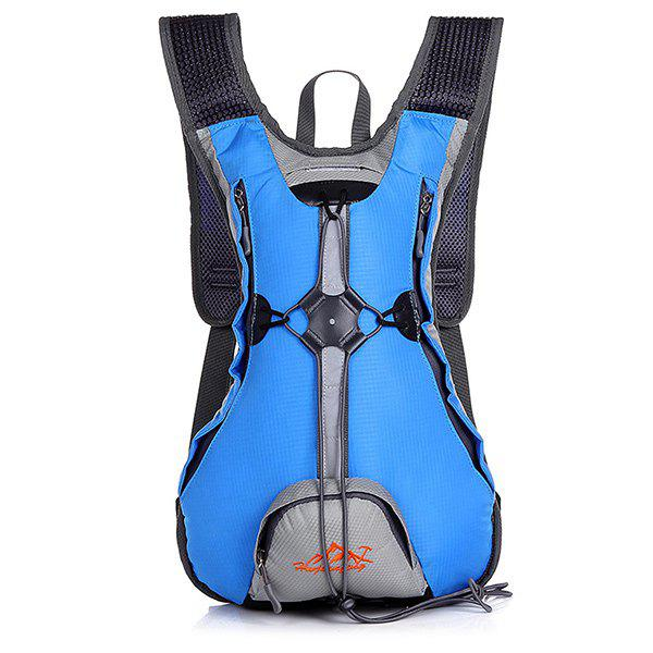 High Quality Waterproof Outdoor Travel Sport Climbing Backpack Fixed Gear Cycling Bag - ICE BLUE