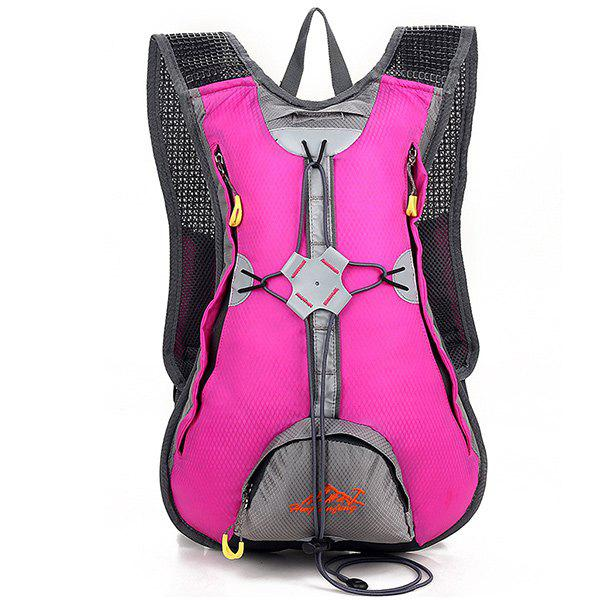 High Quality Waterproof Outdoor Travel Sport Climbing Backpack Fixed Gear Cycling Bag - ROSE