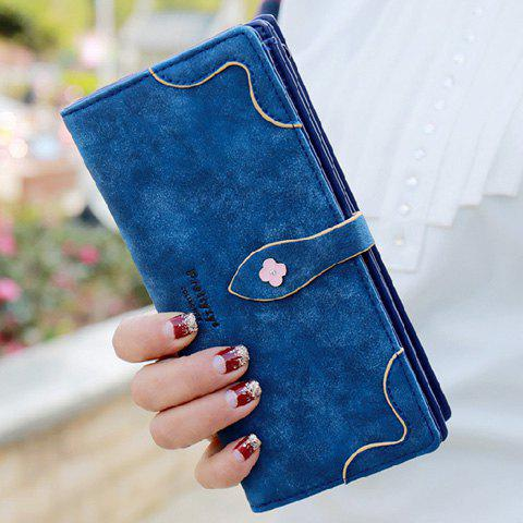 Sweet Letter and Stitching Design Women's Clutch Wallet