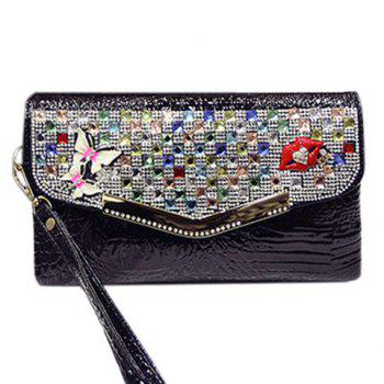 Covered Closure Design Clutch Bag For Women
