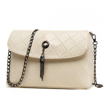 Argyle Pattern Design Shoulder Bag For Women