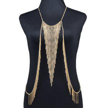 Retro Irregular Tassel Body Chain