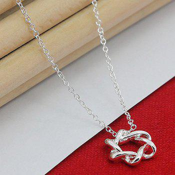 Hollow Out Star Shape Necklace -  SILVER