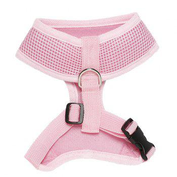 High Quality Solid Color Mesh Fabric H Section Dog Chest Straps - XS XS