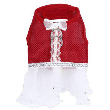 Hot Sale Screen Cloth Dress Style Dog Chest Straps