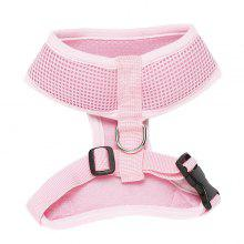 High Quality Solid Color Mesh Fabric H Section Dog Chest Straps