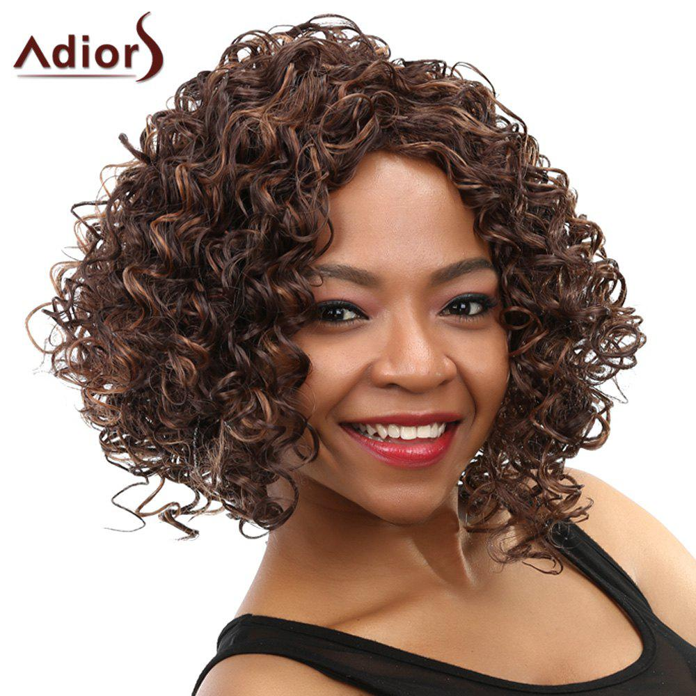 Curly Long Heat Resistant Synthetic Wig - COLORMIX