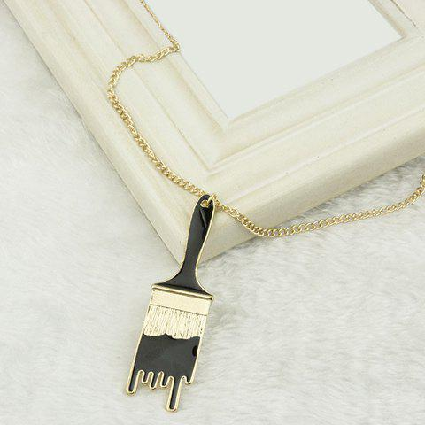 Gorgeous Paint Brush Shape Sweater Chain For Women