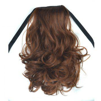 Fluffy Curly Synthetic Fashion Short Capless Ponytail For Women