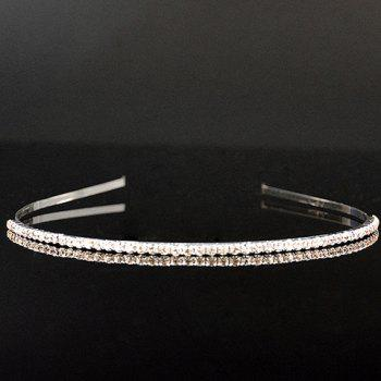 Stunning Rhinestoned Cuff Hairband For Women